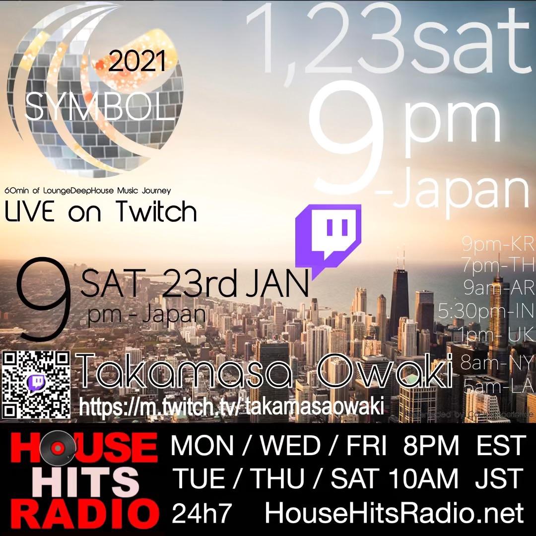 2021-01-23 sat 9pm NEM × MUSIC NEMの機能を使ったイベントの定期開催でNEMの優位性をPRいたします!!