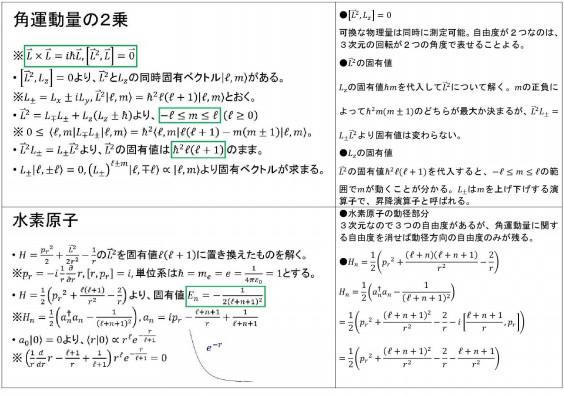 子 交換 運動量 関係 角 演算 【量子力学】角運動量演算子成分の交換関係を導くときのエッセンス