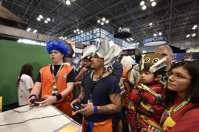 f72683e48f 会場には多くのファンが詰めかけ、ドラゴンボールのコスプレイヤーも数多く来場、ニューヨーカーたちは各々好きなコスプレをしながら会場を楽しんでいた。