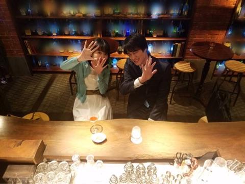 女優の波瑠(25)主演の連続ドラマ『あなたのことはそれほど』(TBS系列)に出演中の劇団EXILE・鈴木伸之(24)が12日、自身のブログを更新。美都(波瑠)とBARで密会