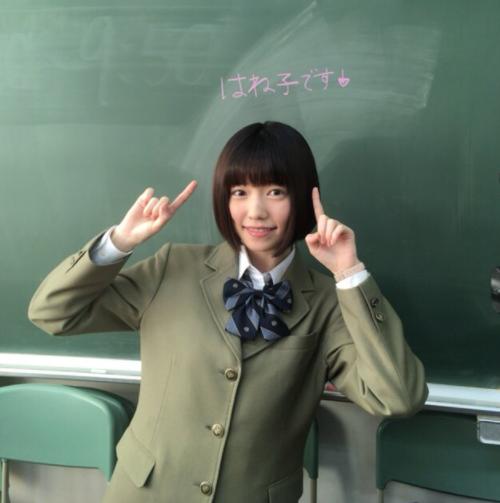 可愛い制服の島崎遥香