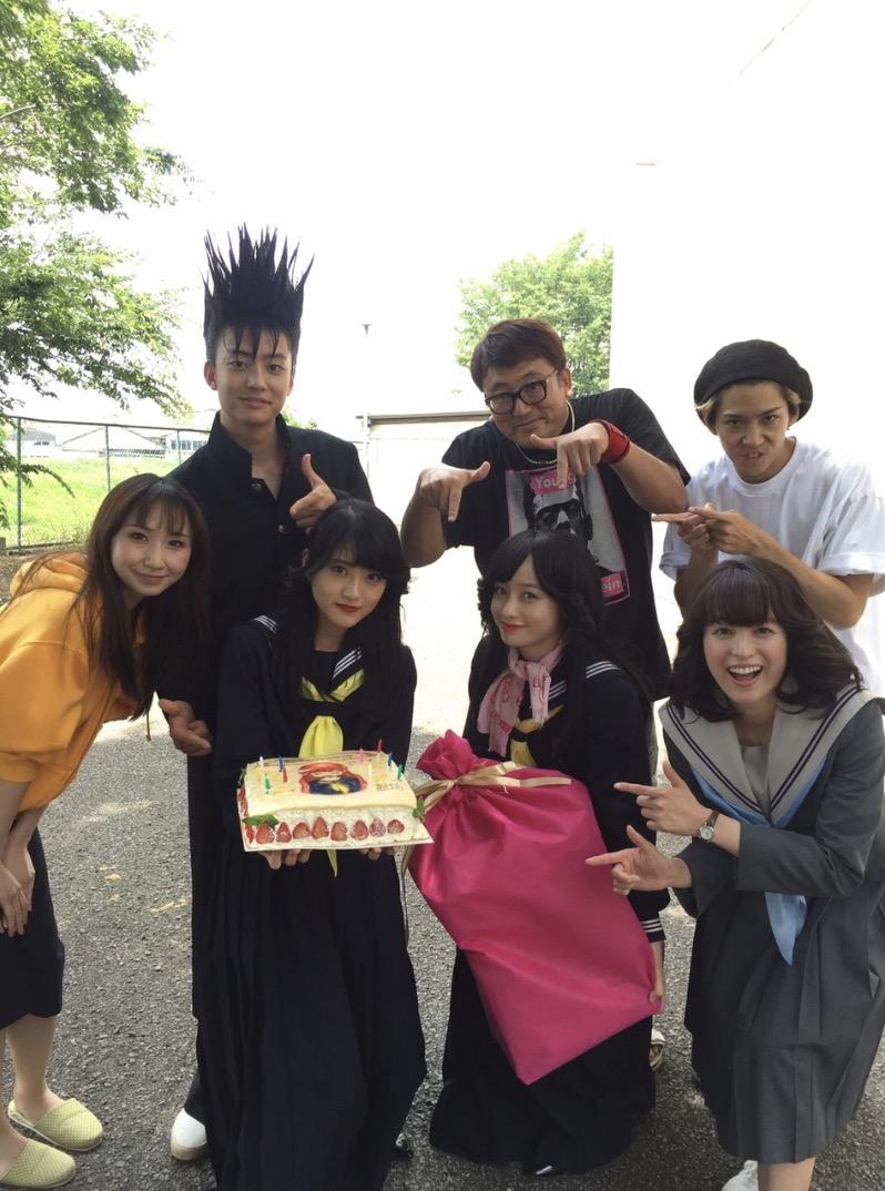 日曜ドラマ『今日から俺は!!』(日本テレビ系)の出演者によるリレーブログに9日、アイドルグループ・乃木坂46を卒業した女優の若月佑美が登場した。