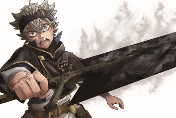 ブラッククローバー剣を構えるアスタ