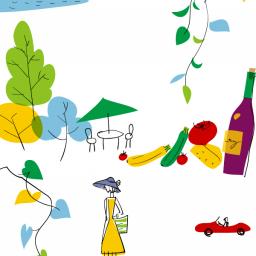 うめくさ Illustrator キシダサトコ