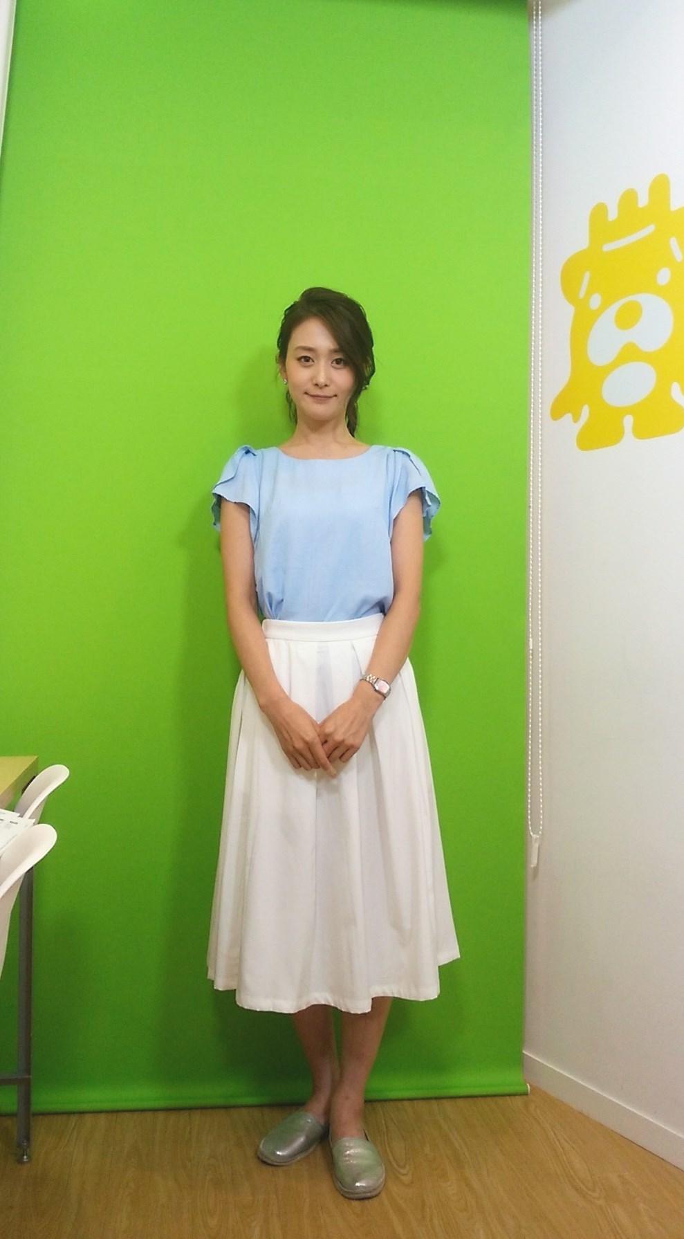 森 葉子アナウンサー(2016年8月12日放送)