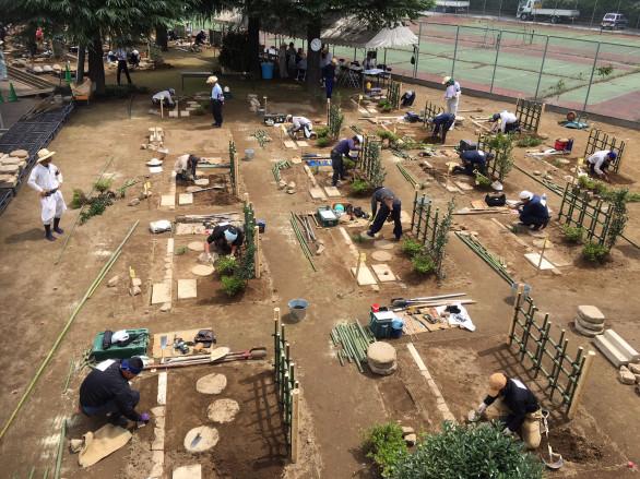 造園技能検定実技試験   🌿庭のリフォーム🌿関越緑化