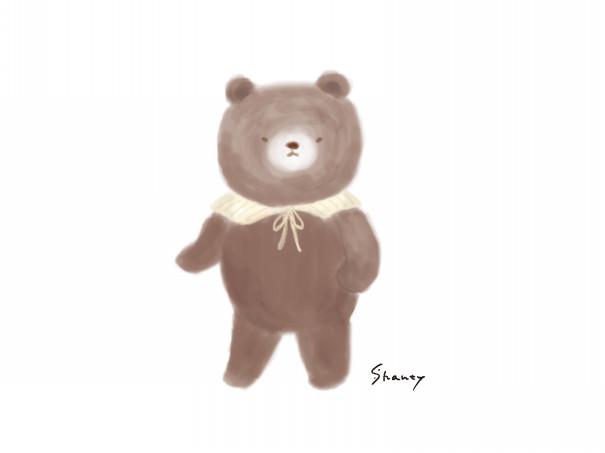 ロバさんとクマさんのイラスト シャンティーのイラストレーション通信rararashanty