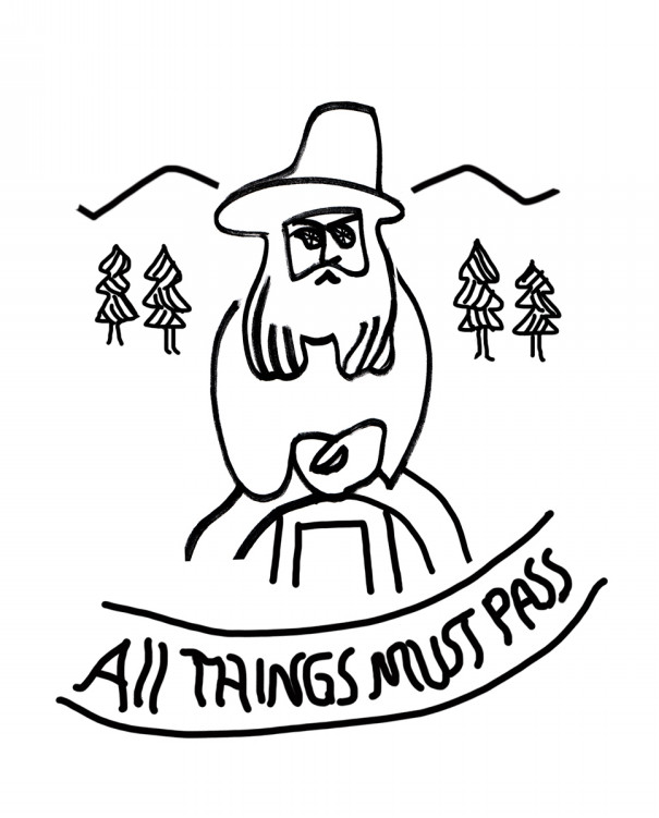 all things must pass lee forest illustration design