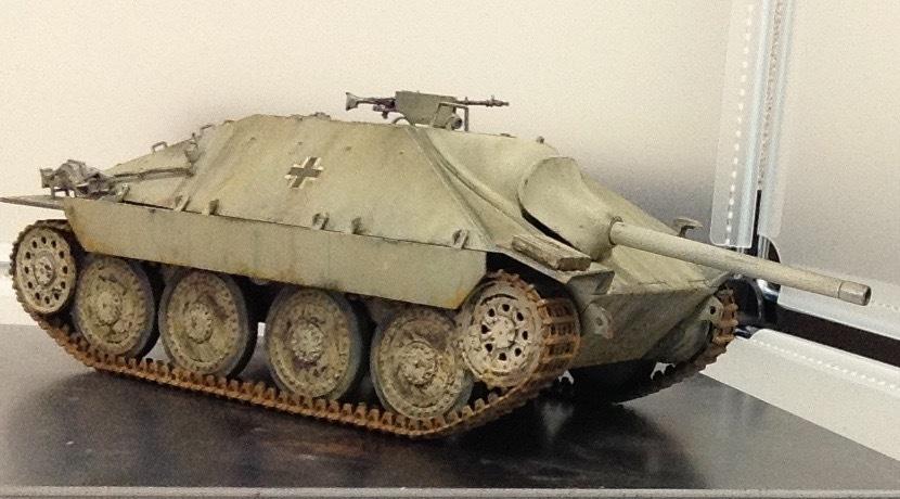 タミヤ 1/35 MMシリーズ ヘッツァー駆逐戦車