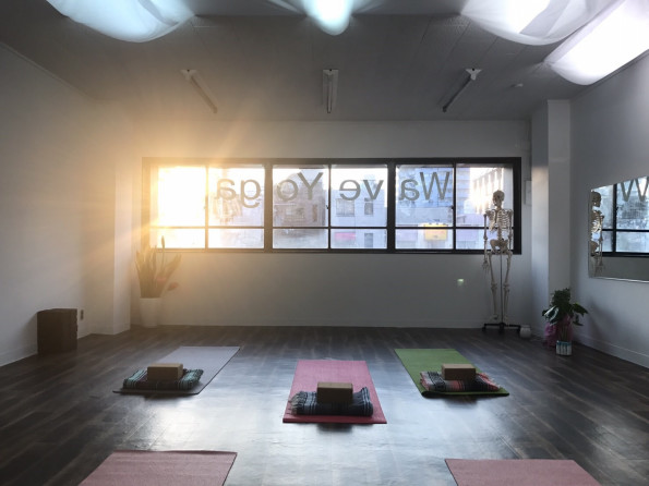 Wave Yoga studio in Osakaの画像