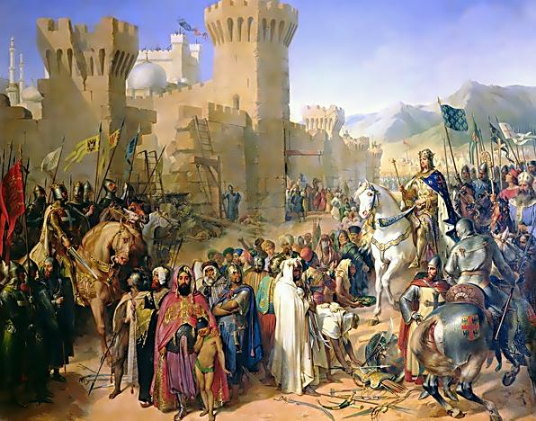 第3回十字軍10-獅子心王アッコ奪還す