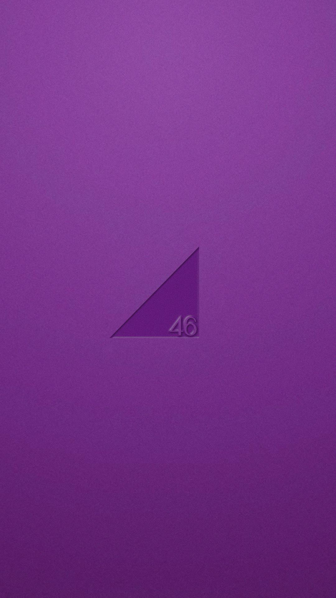 【乃木坂46】シンプルロゴ スマホ壁紙画像|170518|01