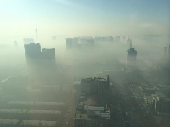 河北省 石家荘市 2015.01   日本のニュースでは報道されない中国の風景