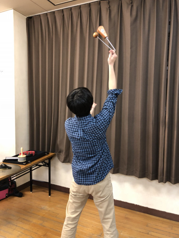 ハンバーグ 師匠 の 楽器