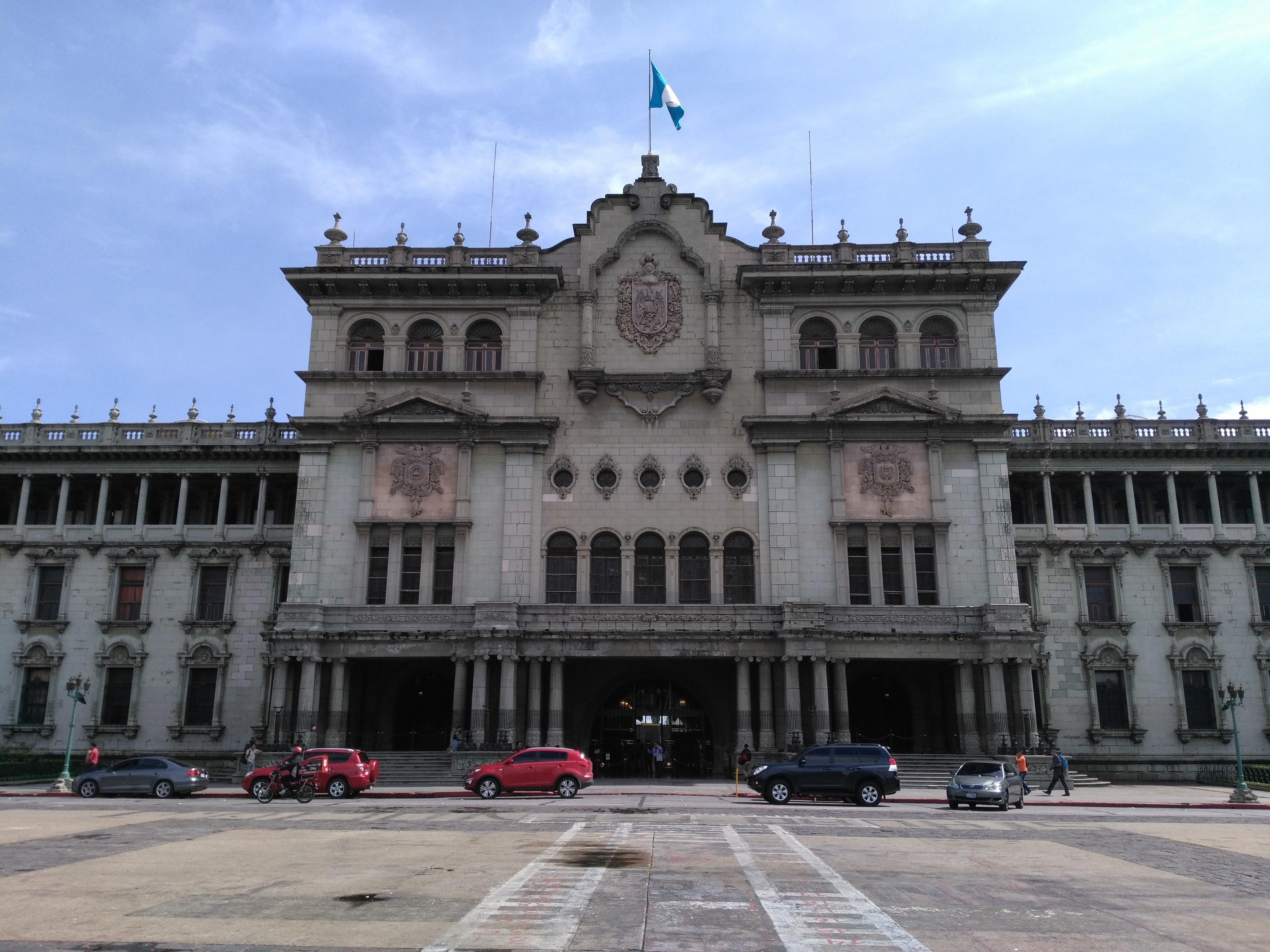 グアテマラシティの国立宮殿(旧大統領府)