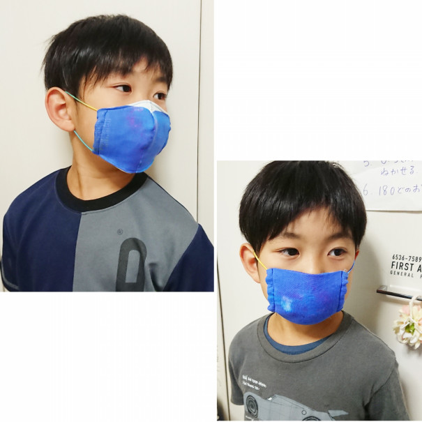 立体 子供 マスク 手作り