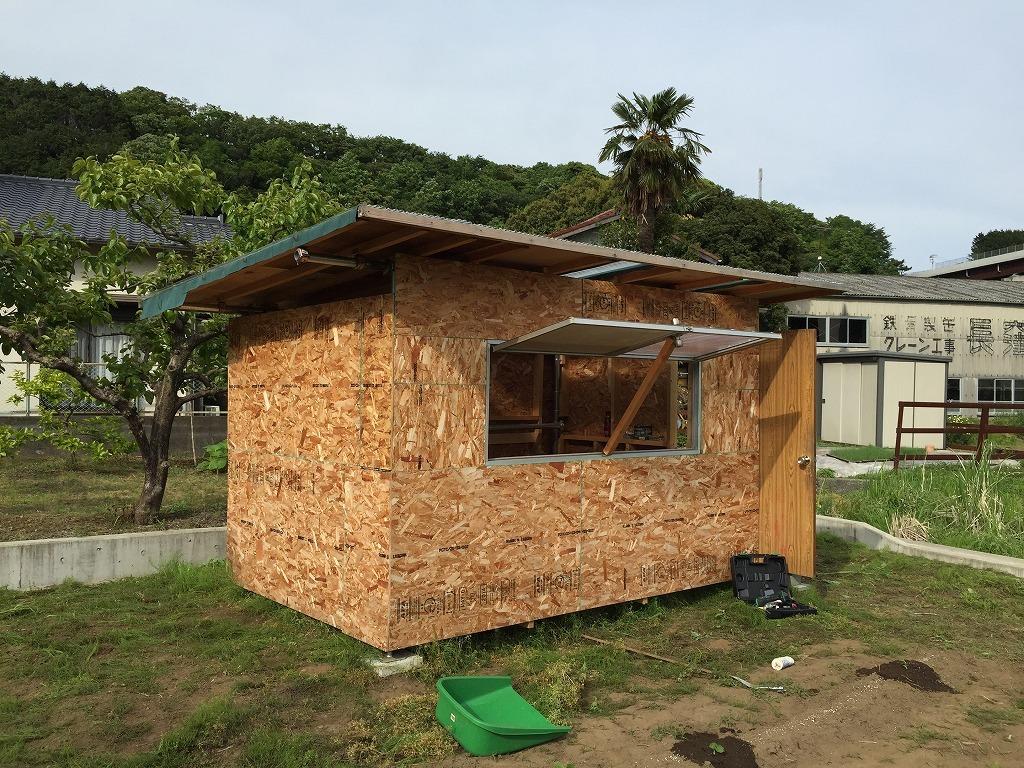 単 管 パイプ 小屋 【単管パイプでパイプ小屋を作ろう!】単管パイプで作るパイプ小屋製...