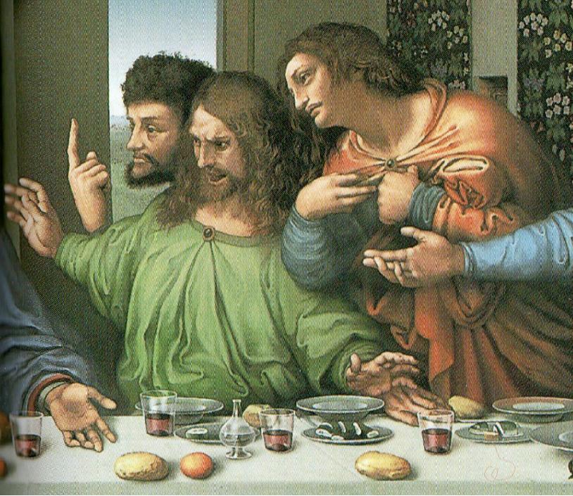 「レオナルドの『最後の晩餐』制作過程」④