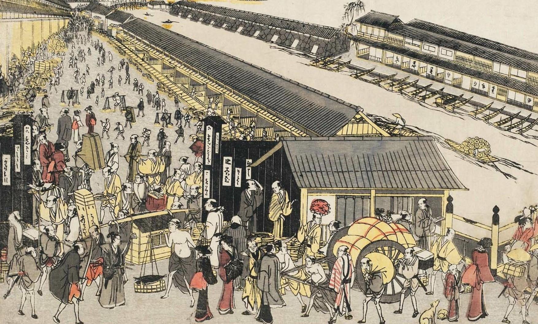 「日本橋 魚市場」⑤松尾芭蕉と魚河岸