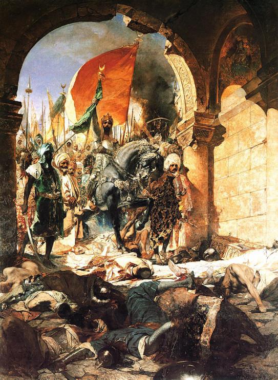 オスマン帝国の脅威とヨーロッパ」3 コンスタンティノープル陥落① ...