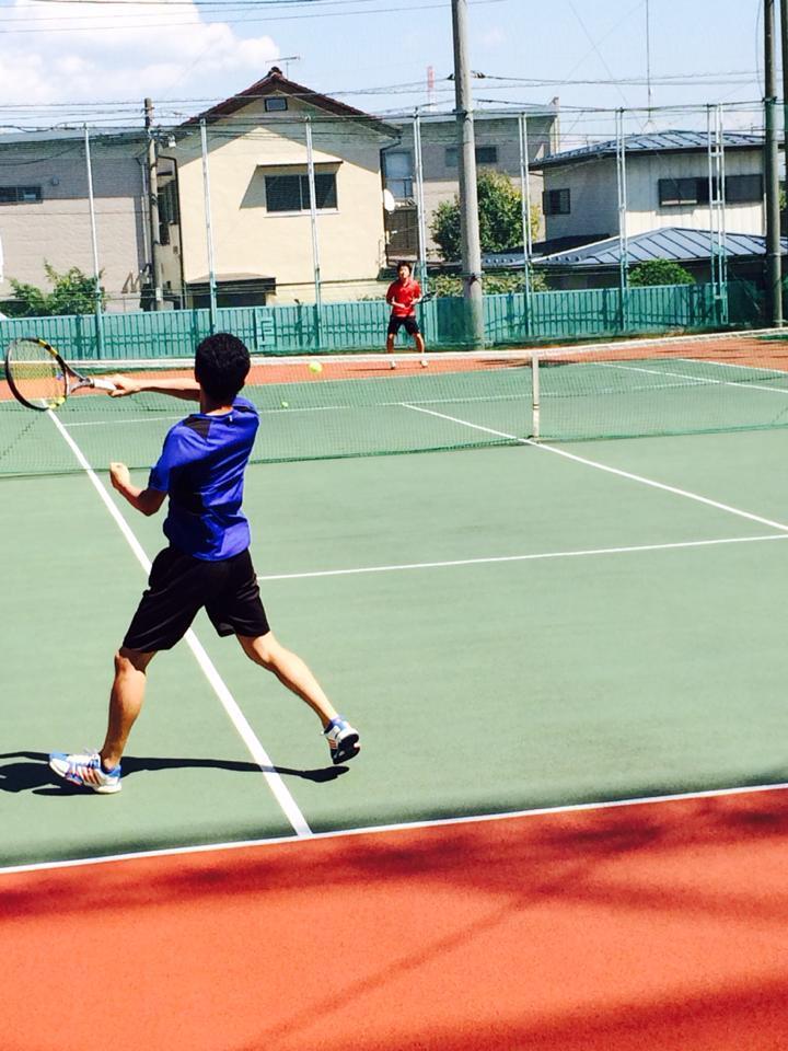テニス コート 立場
