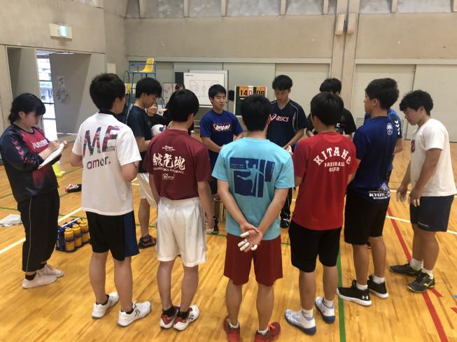 1回生入部〜新人戦 | 京都大学ハンドボール部