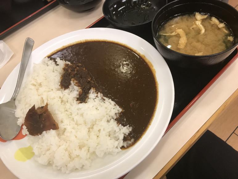 松屋 オリジナルカレー