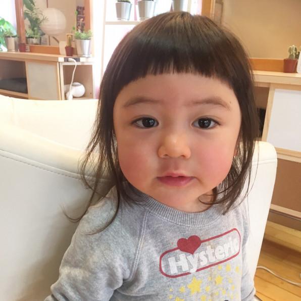 前髪 カット 子供