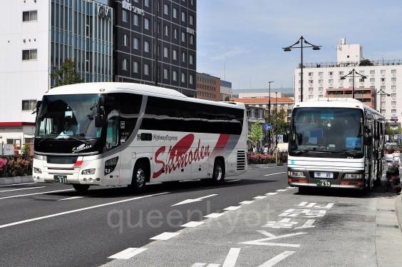 京都エクスプレス」(岡山・倉敷ー京都) | バス画像 京都から情報発信