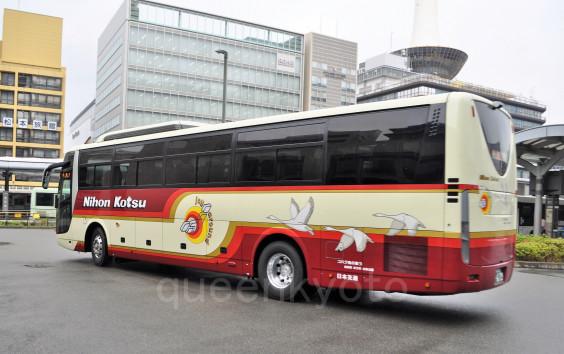 日本交通」京都駅BTに姿を見せたエアロエース、セレガ画像   バス画像 京都から ...