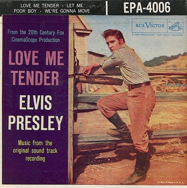 Elvis Presley--Love Me Tender | 歌詞翻訳集