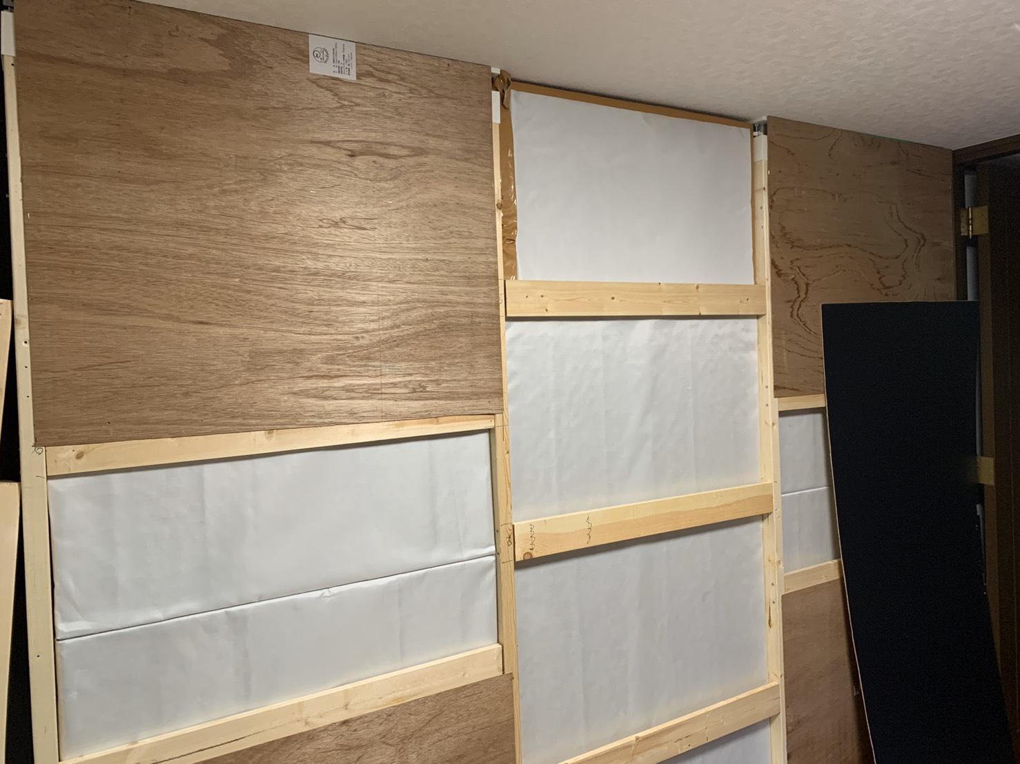 Diyで防音室を作ろう その 壁材を貼る Acappellabo 音楽家 富本泰成のホームページ