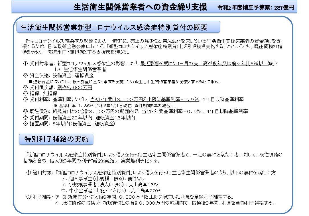 政策 公庫 コロナ 金融 日本