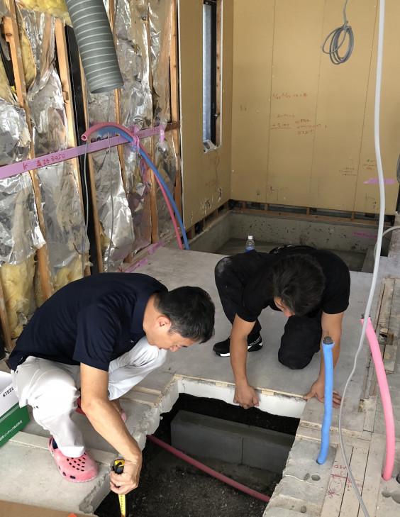 ハウスメーカー戸建リノベーションvol 10 大工さんの造作工事スタート 丁寧な暮らし 住まいをつくる