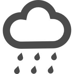 固まる て 地 雨 降っ