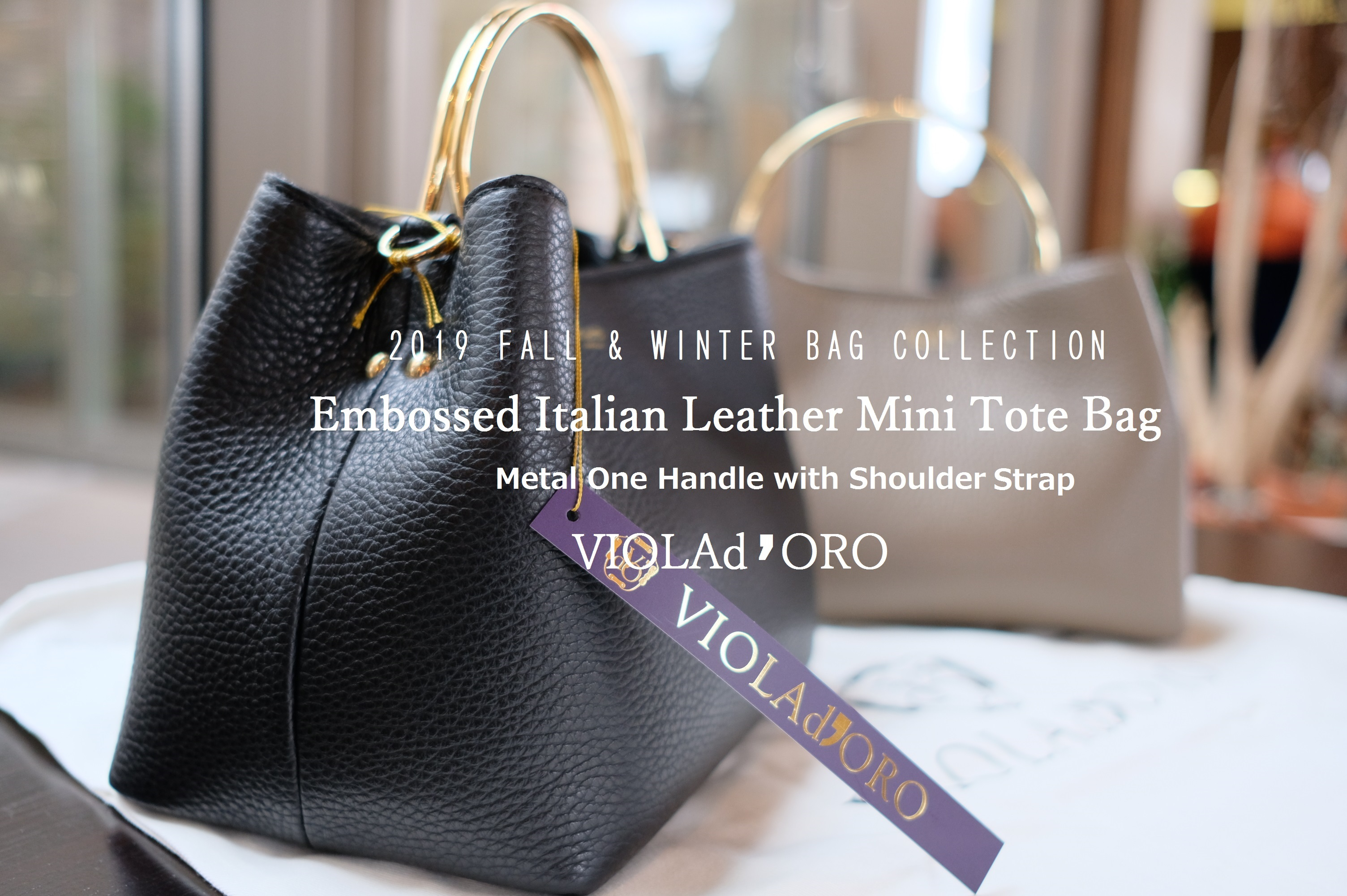 2019 Fall & Winter Spiral's Bag Collection③~ VIOLAd' ORO...9/23mon