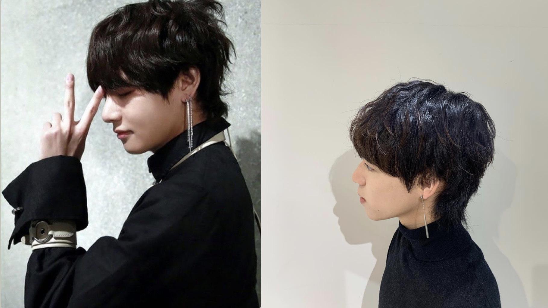 美容師徹底解説 BTS テテ 髪型 カット スタイリング