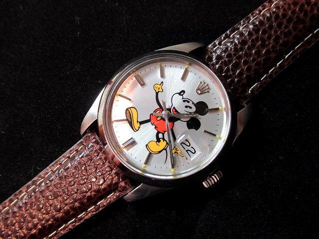 new concept b7820 1641f 人気のミッキー&ロレックス ヤフオクで1000円スタート! | 松野 ...