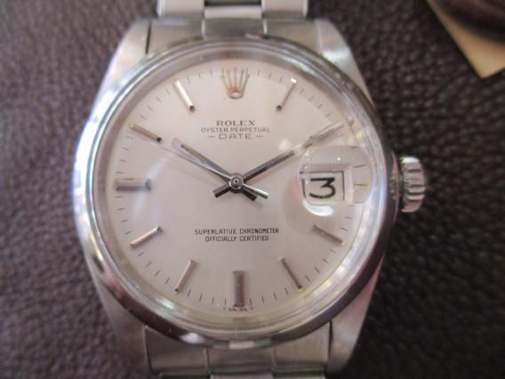 pretty nice b3a63 1d09a ROLEX ロレックス オイスターパーペチュアルデイト Ref.1500 ...