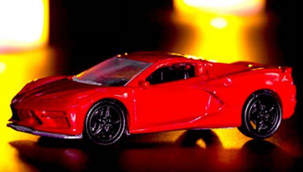 Auto World Test Shot 2020 Chevrolet Corvette C8 Diecast Model Mini Car 2