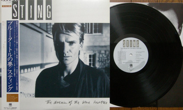 0058『The Dream Of The Blue Turtles/ブルー・タートルの夢』 Sting ...