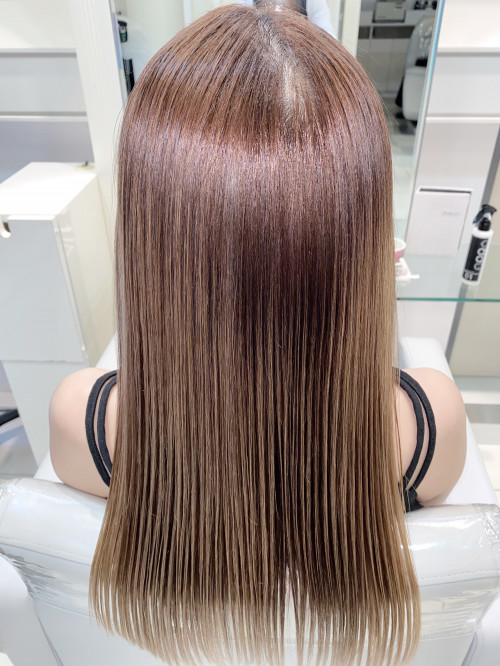ブリーチ2回した毛に縮毛矯正はかけられるのか?   美容室 Ash 銀座 ブログ