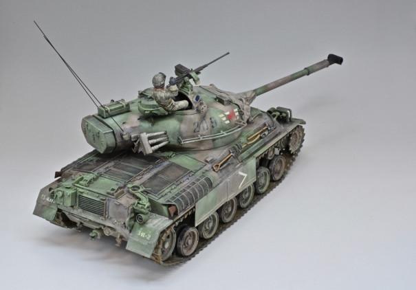 陸上自衛隊の61式戦車にサイドスカートを追加して製作する | Learn and ...