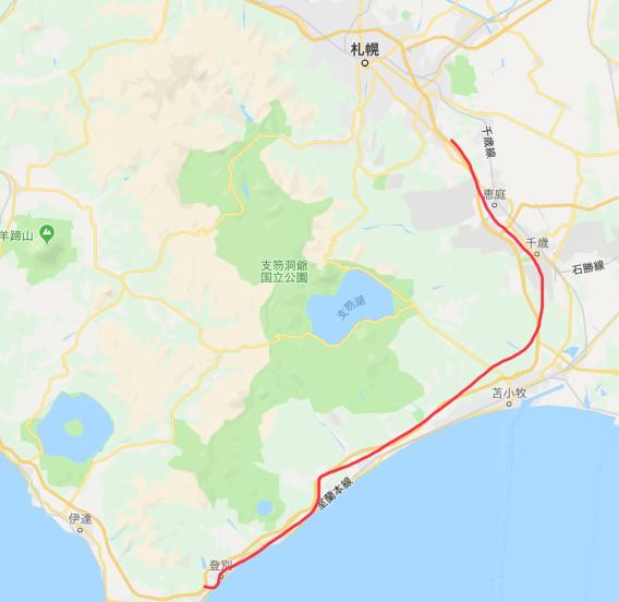 北海道 高速 道路 マップ