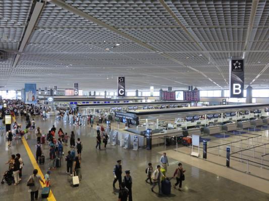 成田 空港 国際線 出発