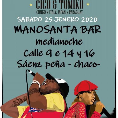 【25/1/2020 Concierto】en Mano Santa -Bar, Sáenz Peña Chaco