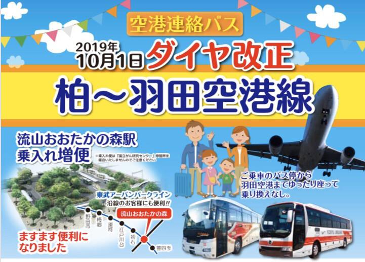 羽田 おおたかの森 バス