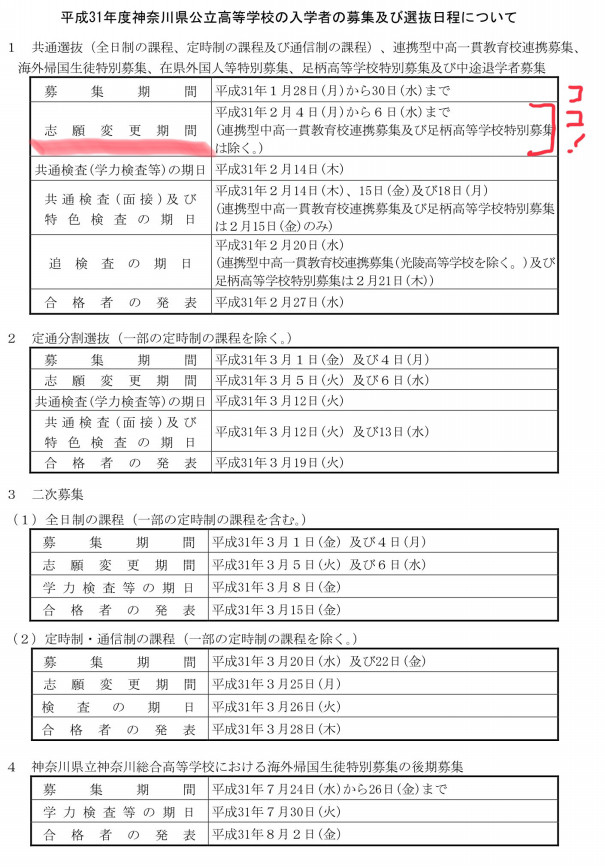 県 高校 倍率 会 教育 入試 委員 神奈川