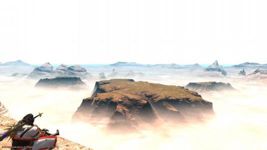 ギラバニア 湖畔 風 脈