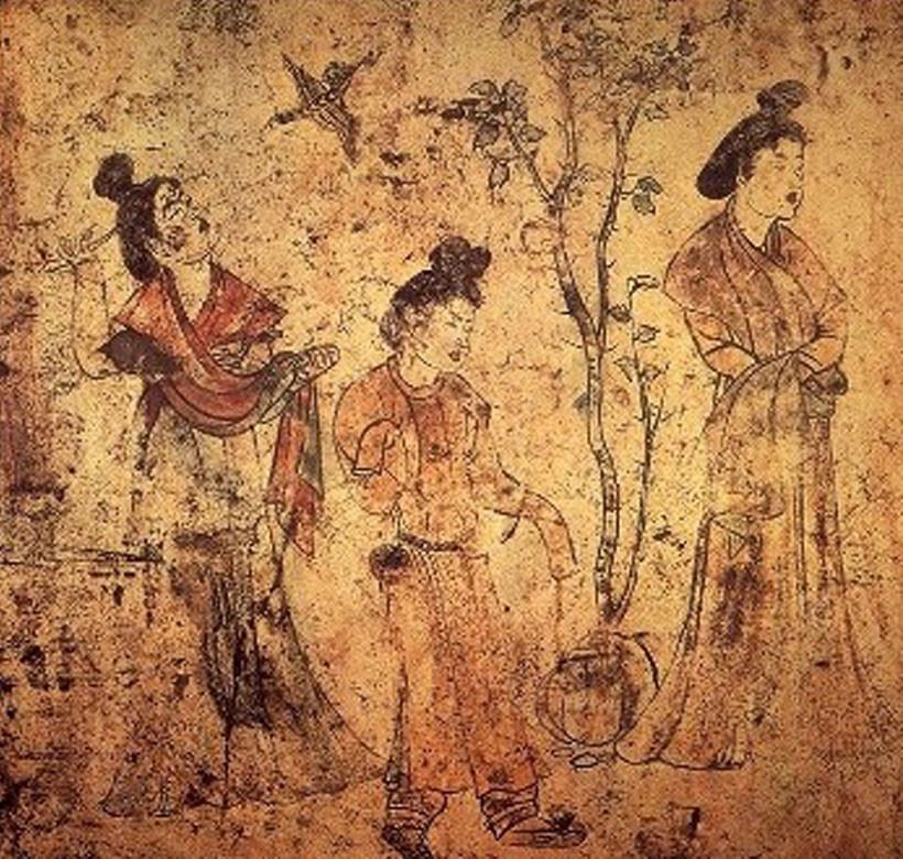 5. 唐・則天武后時代の陵墓壁画 | 東洋の絵画